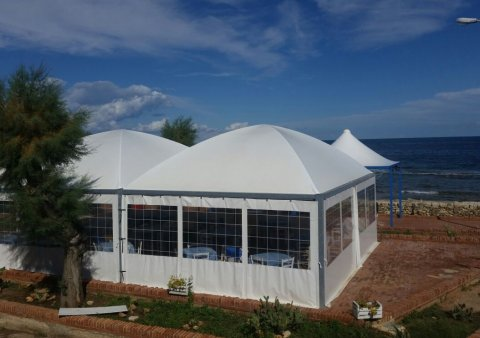 Gazebo Linea Medium Cupola